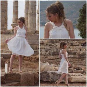 Grecian style Zara cocktail dress